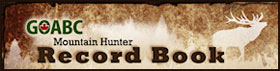 Visit Mountain Hunter Record Book